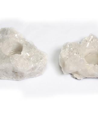 #20 Porta Vela - Druza de Cristal
